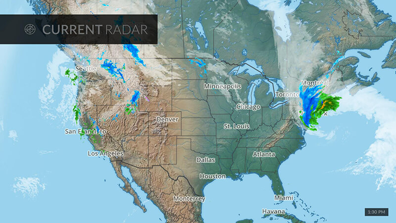 Weather Radar Map Hero